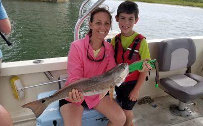 Family Redfish Fishing Charter in St Augustine, FL