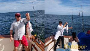 St Augustine Fishing Charter While Offshore and Inshore Fishing