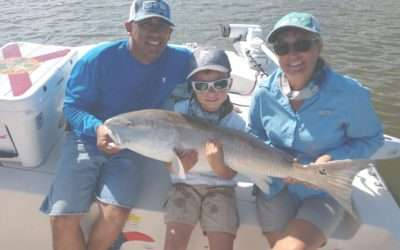 Family Redfish Fishing Charter in St Augustine, FL