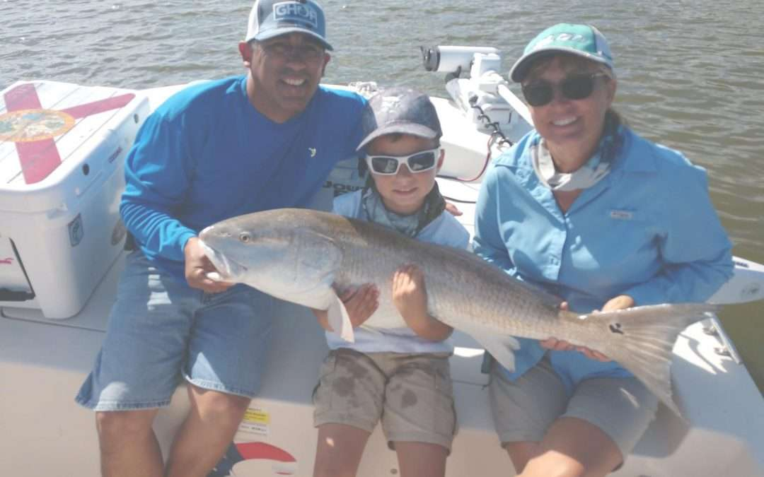 St Augustine Fishing Charters for Redfish